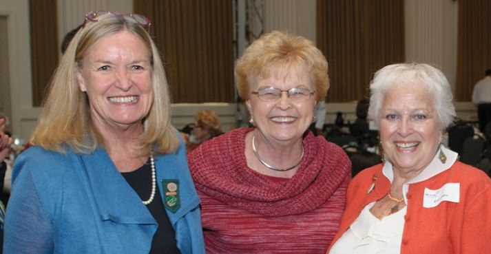 Girl Scouts of Oregon and Southwest Washington CEO Karen Hill, Former Governor Barbara Roberts and Girl Scouts OSW Board Member Eva Labby.