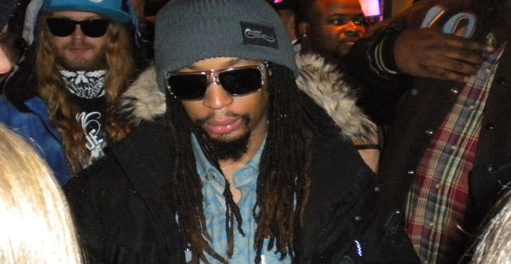 Rapper Lil John at the Bing Bar
