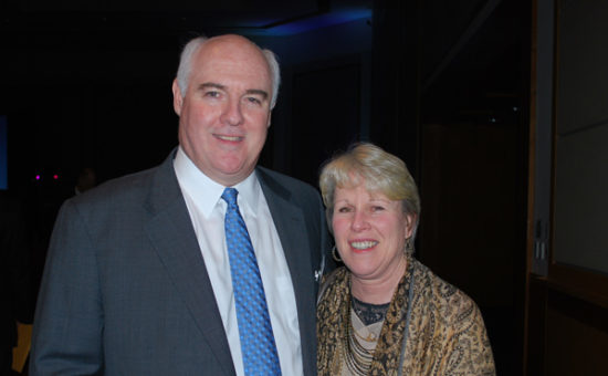 CASA Executive Director, Tim Hennessy and his wife, Katie Hennessy