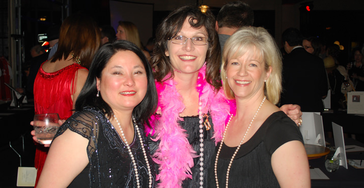 Benefit organizers included PTC Treasurer Jennifer Kimura, PTC President Nicole Grayson and former President, Laura Martin