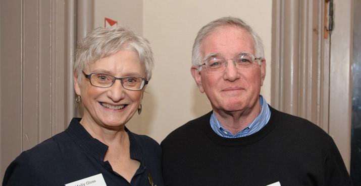 Authors Molly Gloss and Phillip Margolin