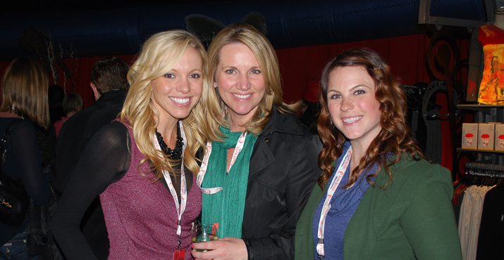 KPTV's Julie Grauert, Shauna Parsons and Lindsay Ford