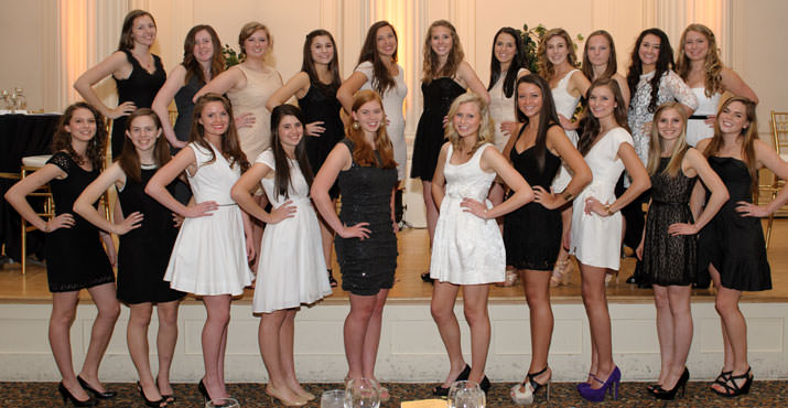 NCL12-22 Class includes, Front Row: India Downes-Leguin, Julia Tawney, Cate Waldram, Rachel New, Amy Tennant, Anna Murphy, Niki Spathas, Kristen Kalez, Madison McCoy, and Cameron Edwards. Back Row: Grace McMurchie, Frances McCaslin, Nicole Inskeep, Mollie Limb, Kennan Krieger, Madison Cameron, Claire Wilson, Dena Horstkotte, Rachel Wald.