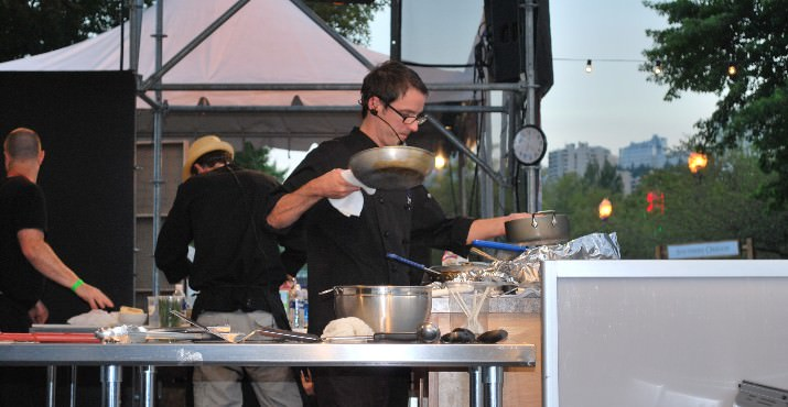 On Friday, August 12th and Saturday, August 13th, the popular Iron Chef Oregon competitions presented by NW Natural return.  Watch talented Oregon Chefs battle it out to see whose cuisine will reign supreme!
