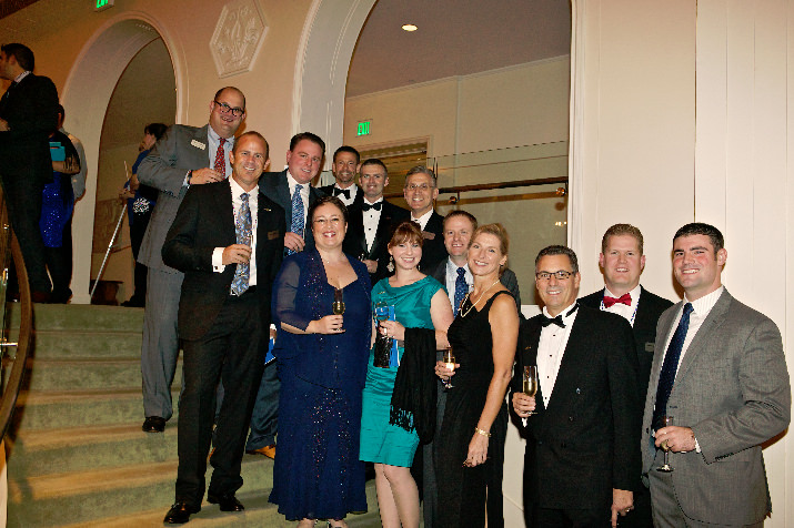 Members of the Board of Directors, Ambassador Board and Junior Board: Members of the Make-A-Wish Boards gather for a champagne toast