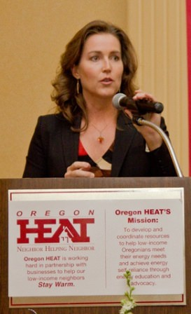 Keynote Speaker, Oregon's First Lady, Cylvia Hayes