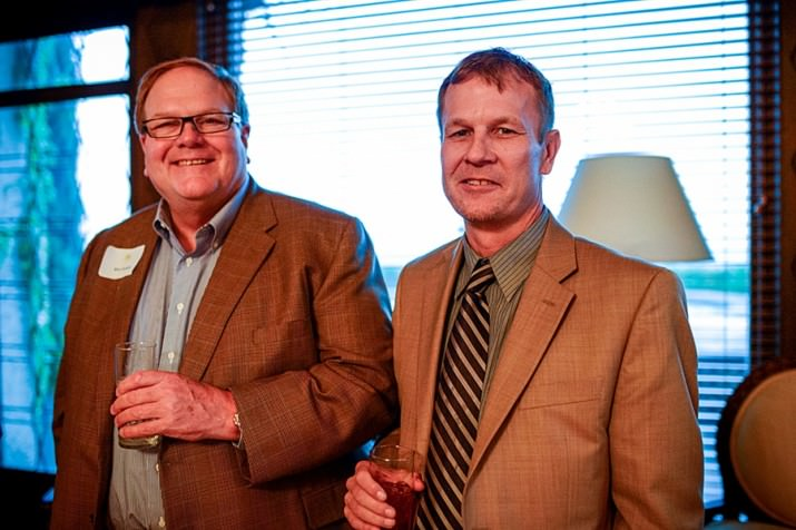 Owners of Morel Ink, Bill Dickey and David Wagner (left to right) were in attendance with fellow Champion Circle members. The DoveLewis Champion Circle of Annual Donors recognizes those who support the organization with an annual gift of $1000 or more.