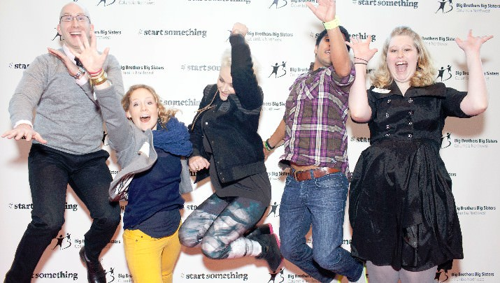 Big Brothers/Big Sisters Tenth Annual Start Something Breakfast Draws 800