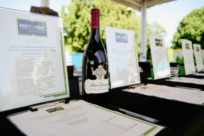 In addition, a Silent and Oral Wine Auction was held to support the education robotics programs or FIRST.