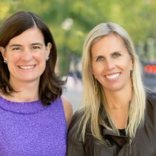 FFT Co-Chairs Megan O'Donnell Murphy '89, left, and Suzann Baricevic Murphy '83