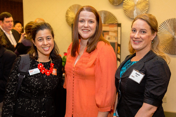 Julia Markley of Perkins Coie LLP, YWCA Board of Directors, Jennifer Currin Gutridge of McGee Wealth Management, YWCA Board of Directors and Susan Haas of McGee Wealth Management.