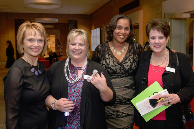 Barb Attridge, Dress for Success Oregon Executive Director and Co-Founder; Lisa Lucas, Dress for Success Oregon Board of Directors; Joi Gordon, CEO of Dress for Success Worldwide; Karen Fishel, Dress for Success Oregon Board of Directors and Co-Founder.