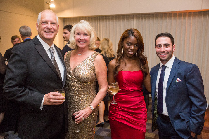 David Thompson, Ann Thompson and Emanuel Medical Center Foundation trustees Jordan Menashe and Krystal Gema