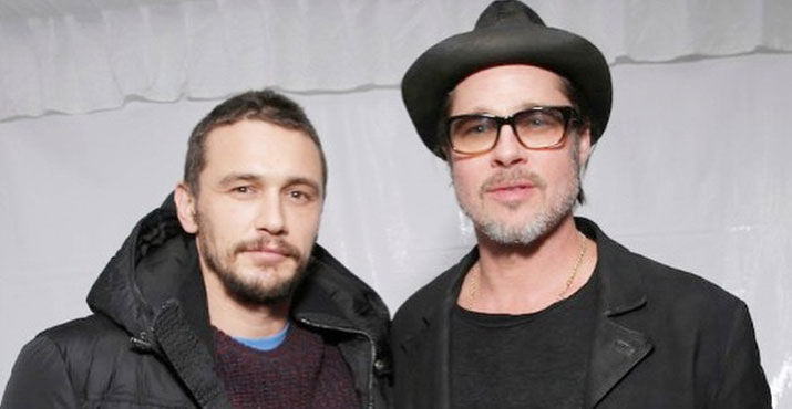 "James Franco and Brad Pitt are the forces behind the Oregon based film, ""True Story."""