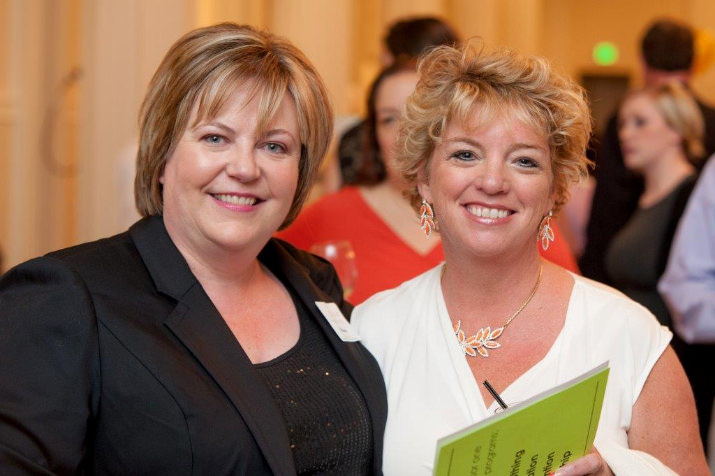 DFSO Board of Directors President, Lisa Lucas and Sharon Drennan