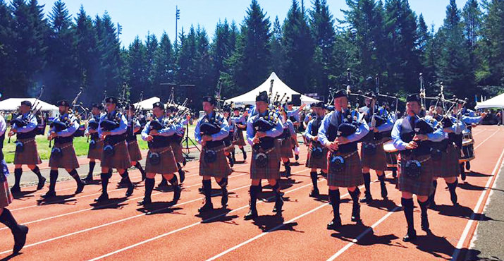 Portland Highland Games Preserve Traditional Scottish Culture