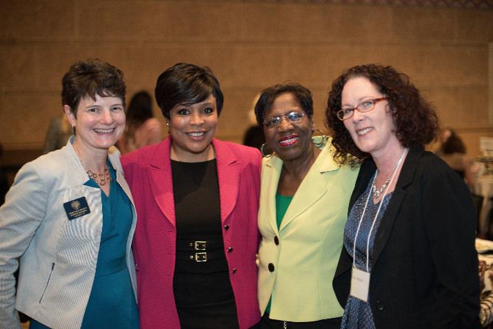 Sen. Elizabeth Steiner-Hayward, Commissioner Loretta Smith, Senator Margaret Carter, Representative Val Hoyle