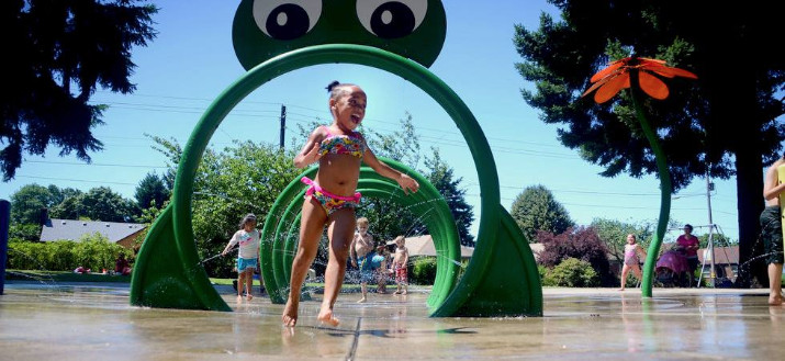 Here's a List of Interactive Fountains and Splash Pads at Portland Parks
