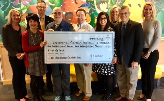 First Tech Federal Credit Union Donates $470,000 to Doernbecher Children's Hospital Foundation