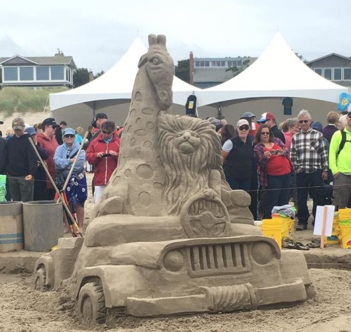 2017 Cannon Beach Sandcastle Contest Draws Crowds