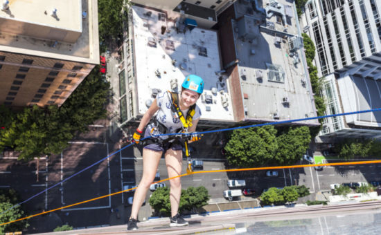 Rappel for Her Raises Over $95,000 for Girls Inc.