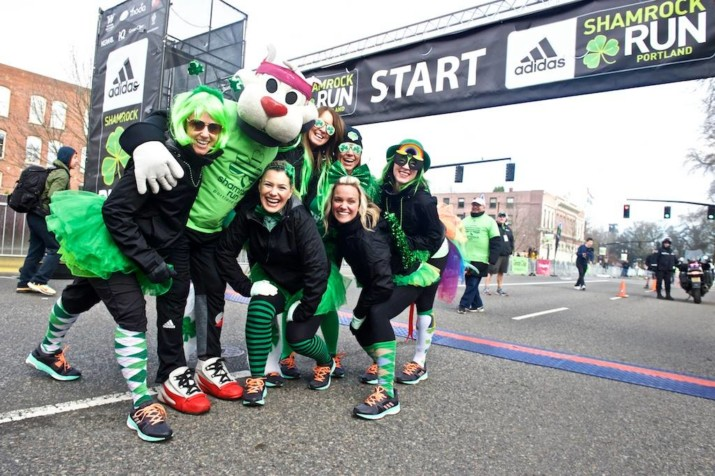 40th Anniversary Shamrock Run Benefits Doernbecher Children's Hospital