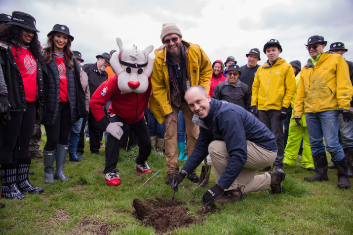 "Trail Blazer ""3's for Trees"" Program Hits 14,000 Trees Already"